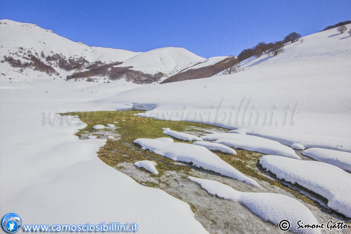 Ciaspolata Castelluccio a San Lorenzo 15 02 2015