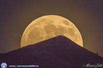 La luna piena…