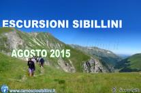 ESCURSIONI SIBILLINI AGOSTO 2016