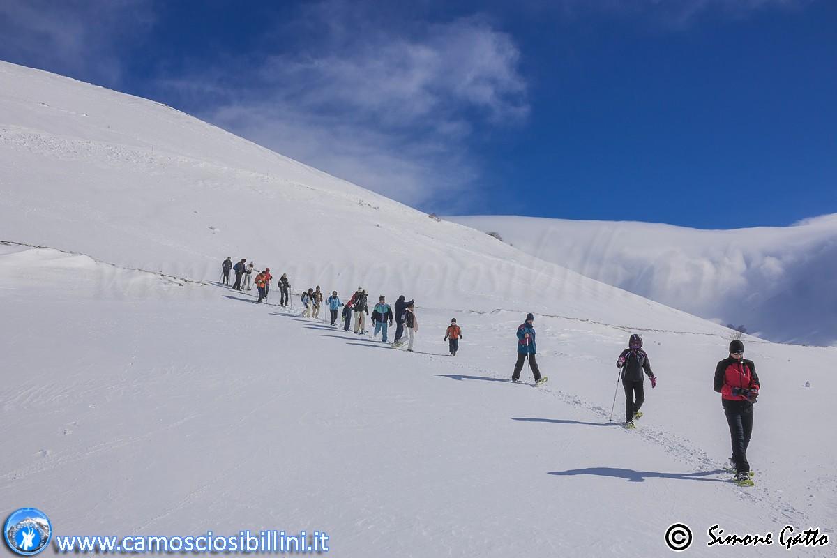 CIASPOLATE ED ESCURSIONI INVERNALE 2017 NEI SIBILLINI