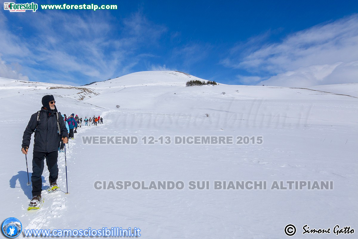 "WEEKEND 12-13 DICEMBRE ""CIASPOLANDO SUI BIANCHI ALTIPIANI"""