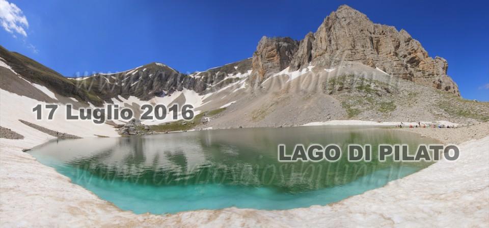 ESCURSIONI SIBILLINI – ESCURSIONE LAGO DI PILATO LUGLIO AGOSTO 2016