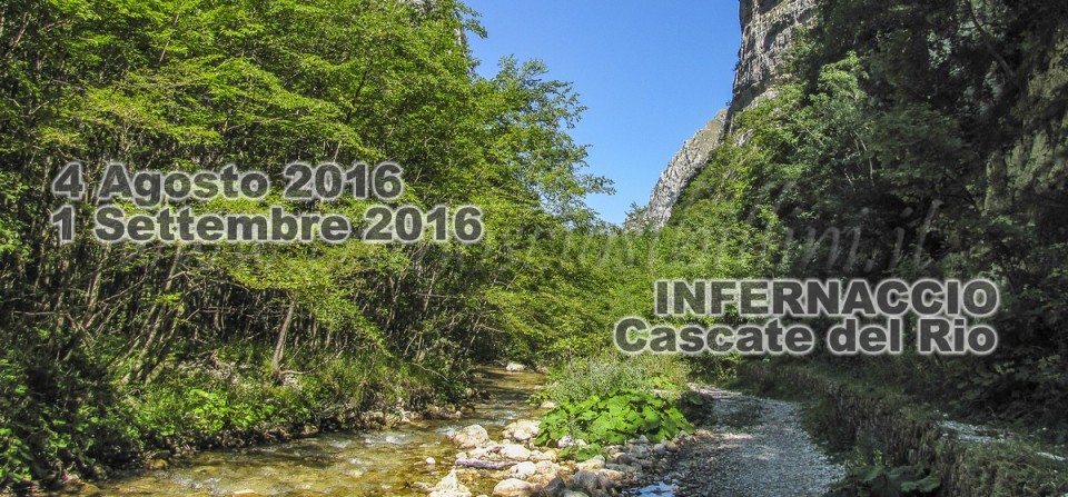 INFERNACCIO – 4 Agosto e 1° Settembre