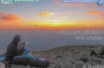 Alba sulle creste del SIBILLA – 14 Agosto