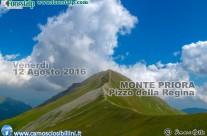 Venerdì 12 Agosto 2016 – Monte Priora Pizzo della Regina