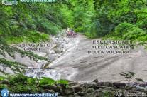 25 Agosto Escursione alle Cascate della Volpara, 25 Agosto 2016