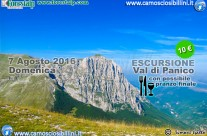 7 Agosto, Escursione in Val di Panico
