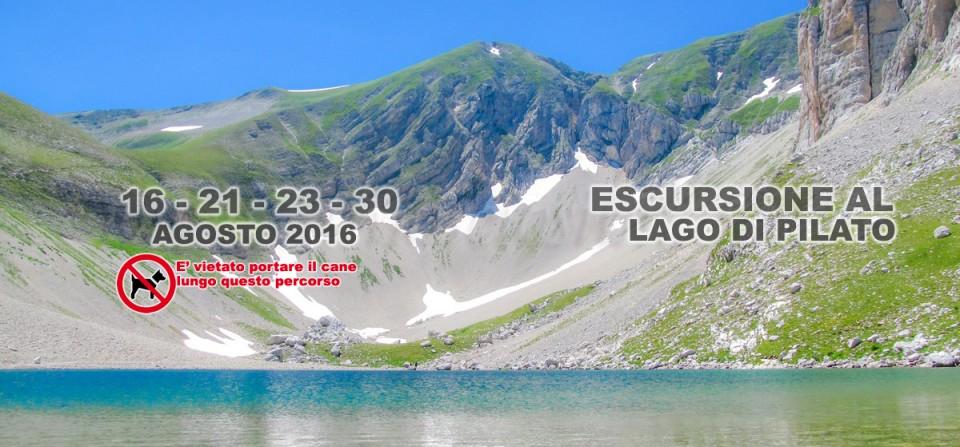 30 Agosto Escursione al Lago di Pilato – 2016
