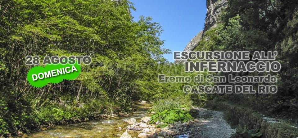 28 Agosto, Infernaccio, escursione domenicale