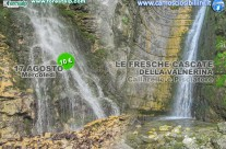 17 Agosto Escursioni alle Fresche Cascate della Val Nerina – Agosto 2017
