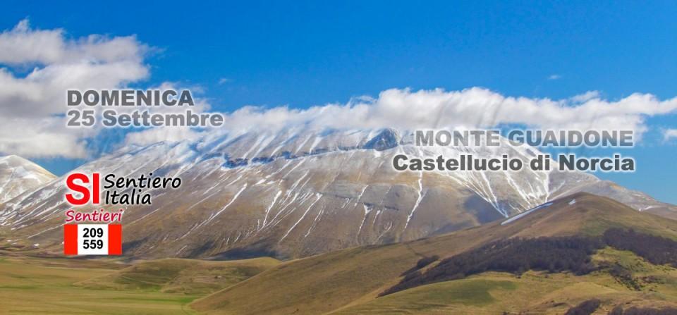 25 Settembre – Monte Guaidone Castelluccio