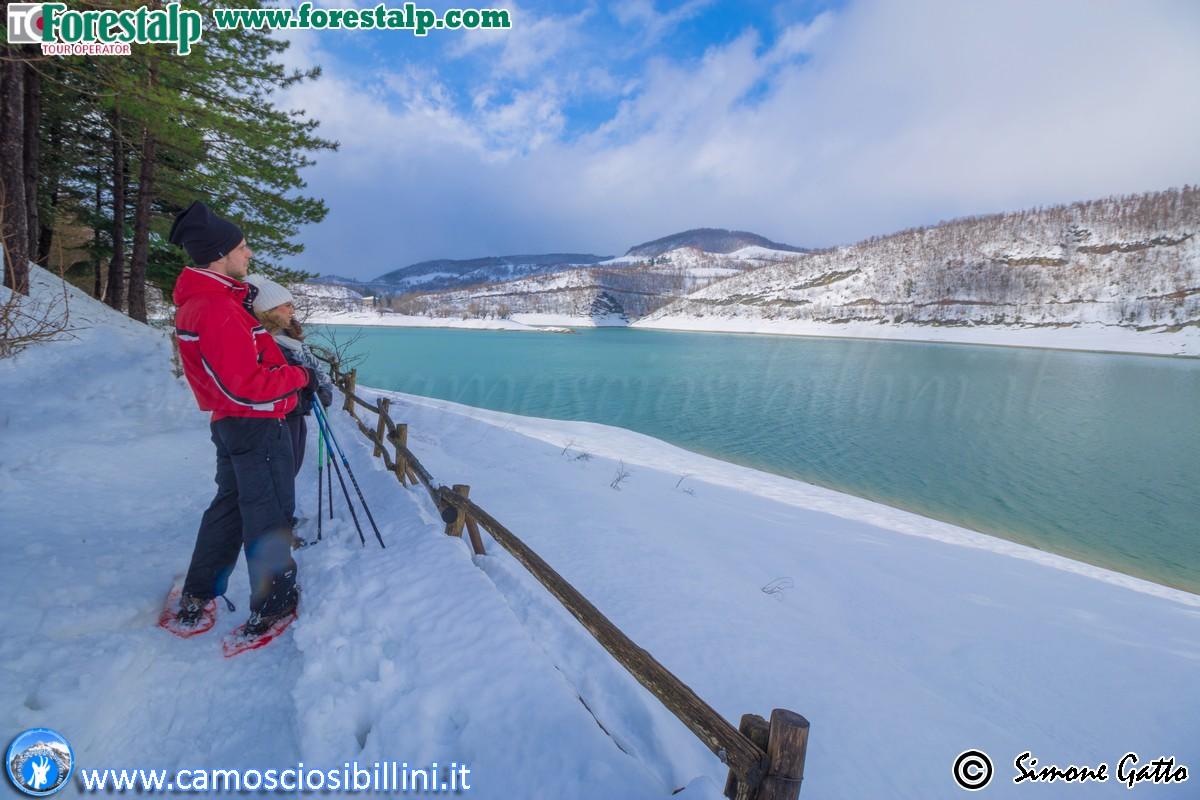 CIASPOLATA Lago di Fiastra 22 Gennaio 2017