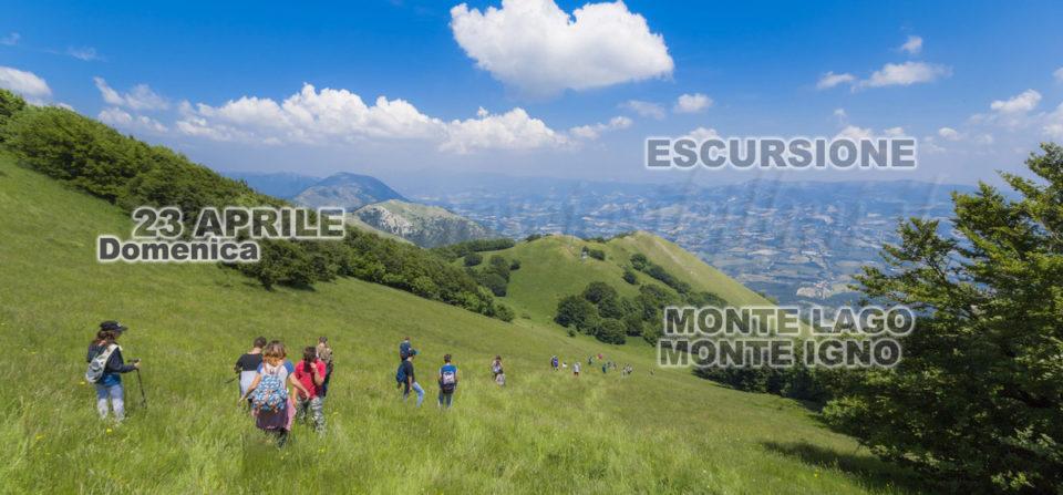 ANNULLATA – Escursione Domenica 23 Aprile Monte Igno – Monte Lago