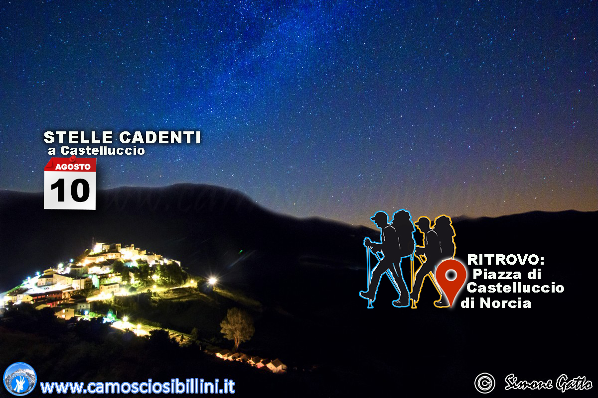 10 Agosto – Notturna a Castelluccio (15 €) (media/facile)