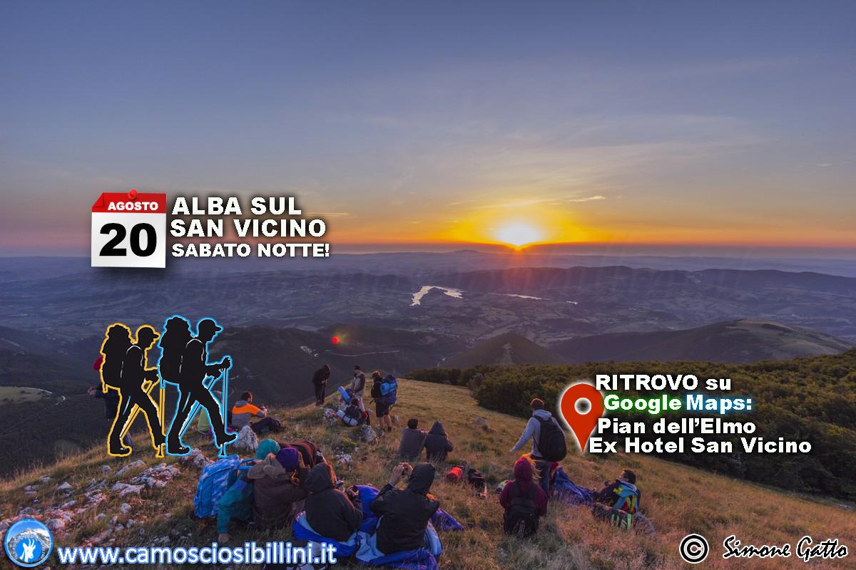 20 Agosto, DOMENICA MATTINA – Alba sul Monte San Vicino