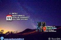 Venerdì 11 Agosto Bis-Notturna e STELLE CADENTI al San Vicino