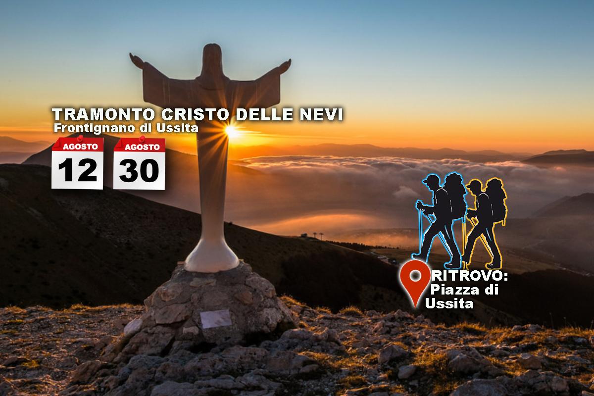30 Agosto – Tramonto al Cristo delle Nevi – Frontignano