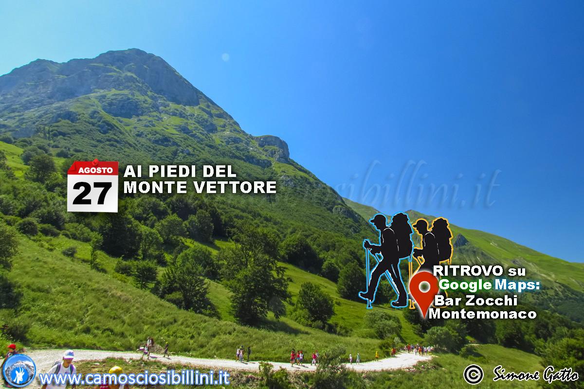 Domenica 27 Agosto – Escursioni ai Piedi del Monte Vettore