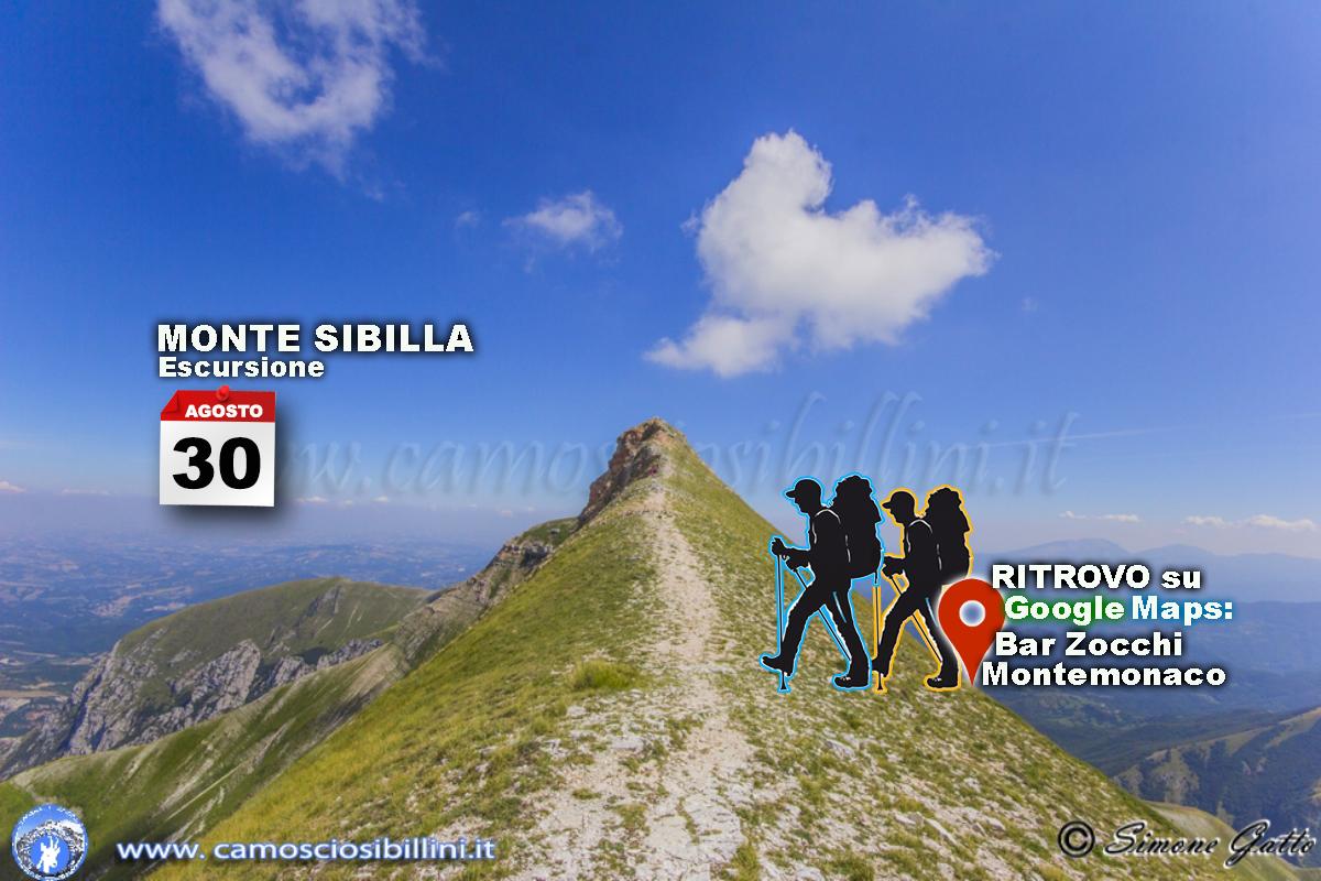 30 Agosto – Escursione al Monte Sibilla – 2017