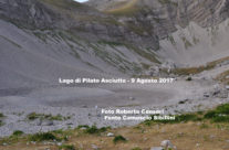 9 Agosto 2017 – Lago di Pilato Asciutto!