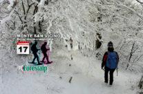 Ciaspolando ai piedi del Monte San Vicino