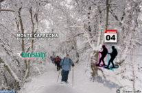 4 gennaio – Sospesi sulla Val Marecchia ciaspolando sul Monte Carpegna