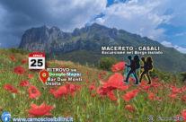 COMPLETO 25 Aprile 2018 Escursione Il Ritorno nel Borgo Isolato, Macereto-Casali di Ussita