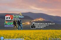 TRAMONTO IN GIALLO – Escursione 23 Giugno