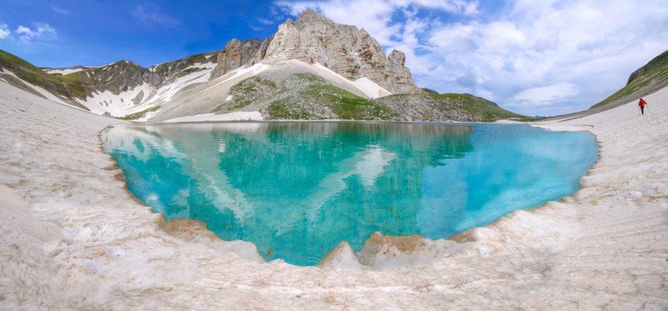 5 Giugno 2018, Il Lago di Pilato c'è ed è pieno e unito!
