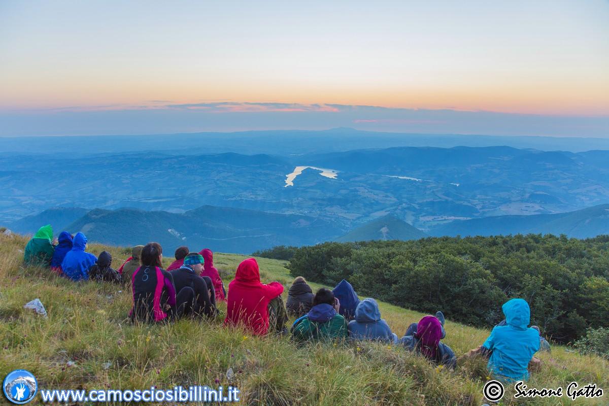 27 Luglio, SABATO MATTINA – Alba sul Monte San Vicino