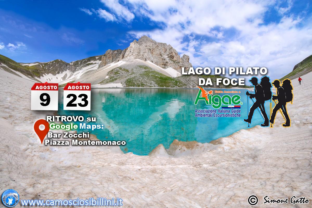 23 Agosto 2018 Escursione al Lago di Pilato