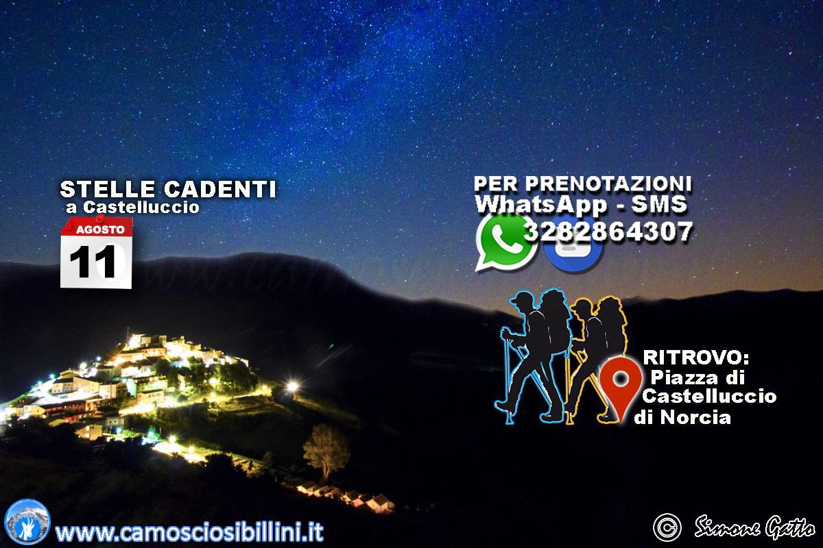 11 Agosto – Tramonto e Notturna a Castelluccio, Stelle Cadenti 2018, Notte di San Lorenzo