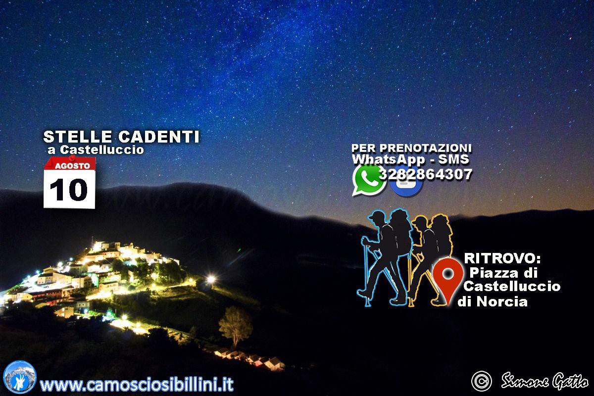 10 Agosto – Tramonto e Notturna a Castelluccio, Stelle Cadenti 2021, Notte di San Lorenzo