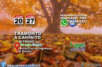 27 Ottobre – Tramonto a Canfaito – Sabato