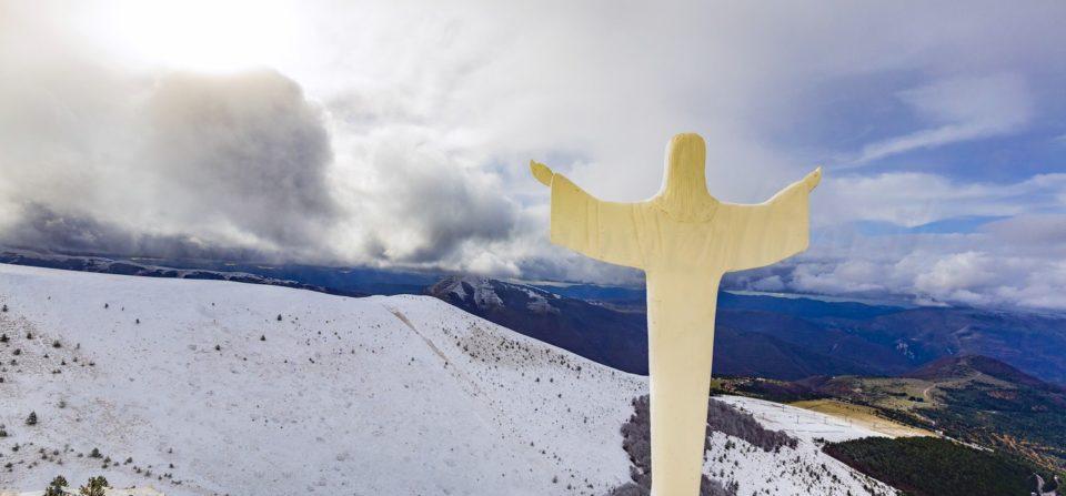 La neve fra i campi da scii abbandonati – 26 Novembre 2018