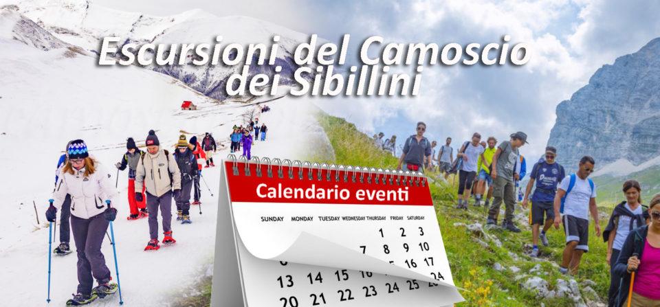 Escursioni Sibillini – Calendario Eventi