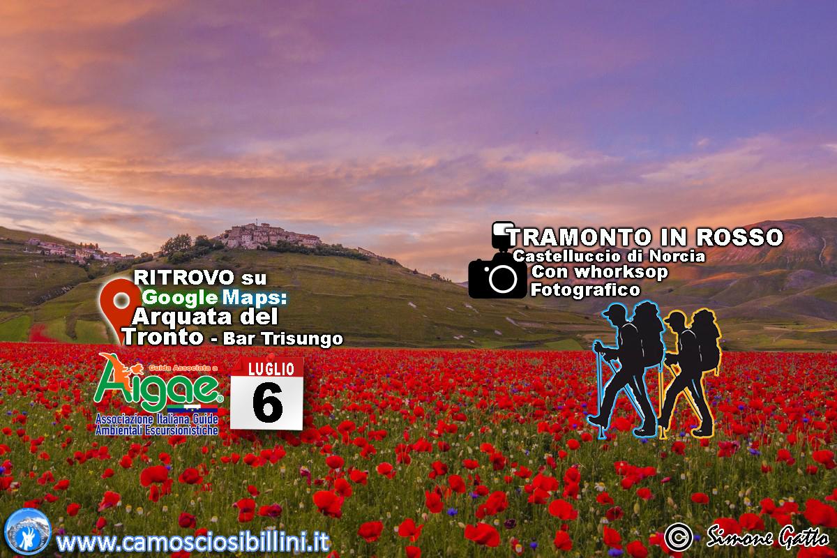Calendario Alba Tramonto 2020.Fioritura Tramonto In Rosso 4 Luglio 2020 Il Camoscio
