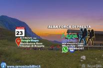 23 Agosto – Alba a Forca di Presta