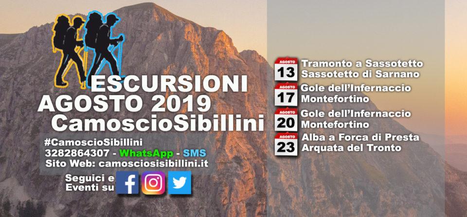 Calendario Alba Tramonto 2020.Il Camoscio Dei Sibillini Escursioni E Gestione Ambientale