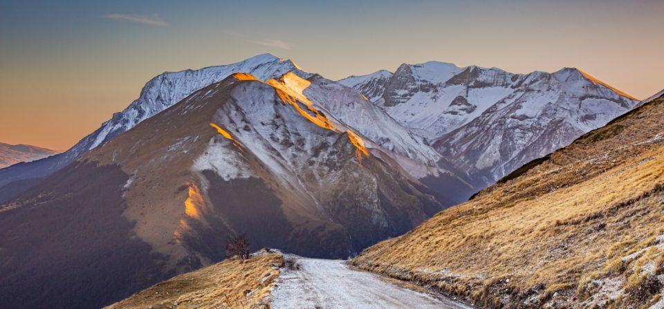 Un tramonto al Rifugio Sibilla