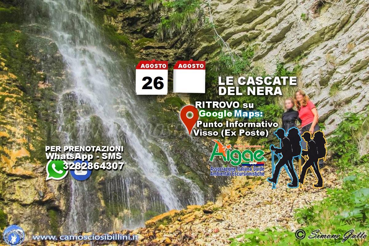 26 Agosto 2021 Le Cascate del Nera