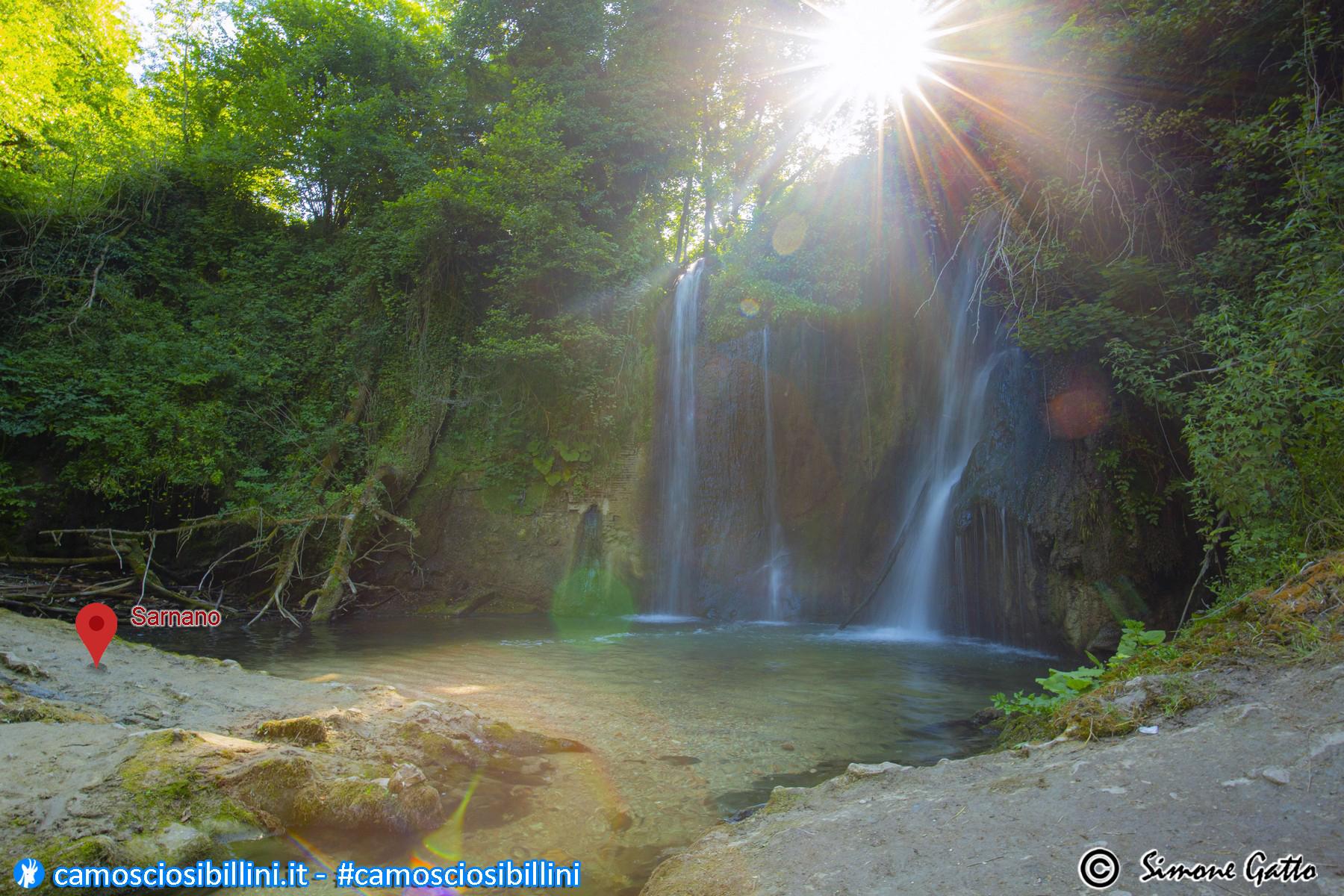 Le Tre facili e bellissime Cascate di Sarnano