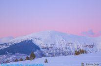 Monte Bove al tramonto